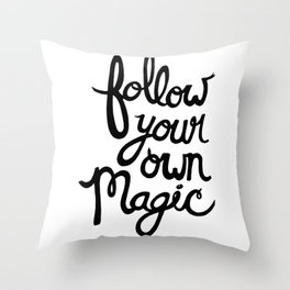 M A G I C Throw Pillow