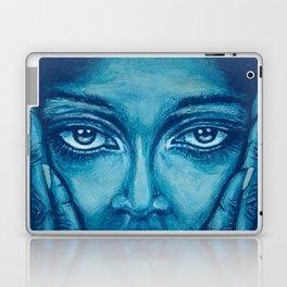 look at me-blue Laptop & iPad Skin