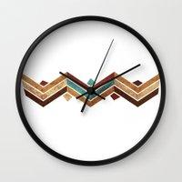 boho Wall Clocks featuring Boho by Armand Valendez
