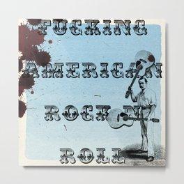 Rock N Roll Metal Print