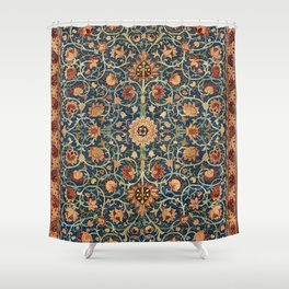 William Morris Floral Carpet Print Shower Curtain