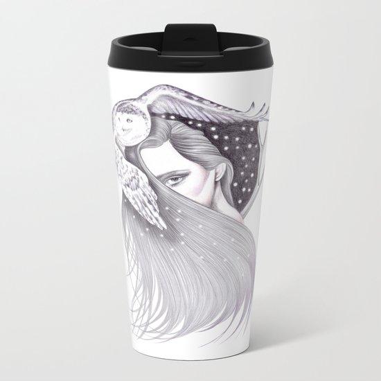 Night Owls Metal Travel Mug