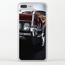Car headlight 4 Clear iPhone Case