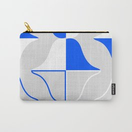 Whales In Cobalt Carry-All Pouch