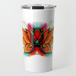 Flor de Loto Travel Mug