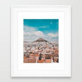 Acropolis in Athens Fine Art Print Framed Art Print