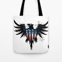 Grunge Eagle Tote Bag