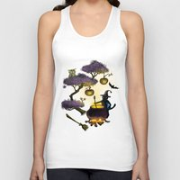 halloween Tank Tops featuring Halloween by Anna Shell