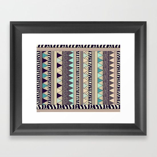 PLAYGROUND Framed Art Print