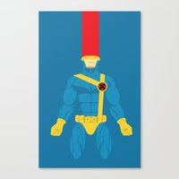 cyclops Canvas Prints featuring Cyclops by gallant designs