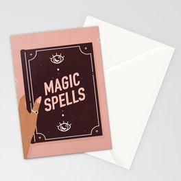 Magic Spellbook Stationery Cards