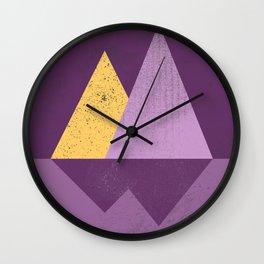 Abstract Landscaoe Wall Clock