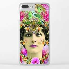 Gypsy Dreaming Clear iPhone Case