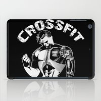 crossfit iPad Cases featuring Crossfit by Line Jenssen