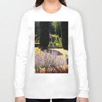 lavender Long Sleeve T-shirts featuring Lavender by Olivia Nicholls-Bates