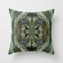 Reflection In A Creek # 2 Throw Pillow