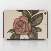 roses iPad Cases featuring Roses by Jessica Roux