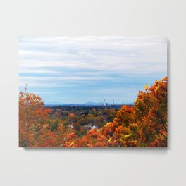 Halloween Foliage in Portland (1) Metal Print