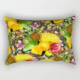 Fruit though. Rectangular Pillow