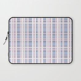 The checkered pattern . Scottish . blue , pink , white . Laptop Sleeve