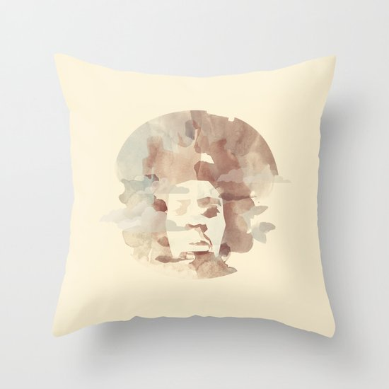Black Power Throw Pillow