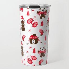 Christmas holidays Travel Mug