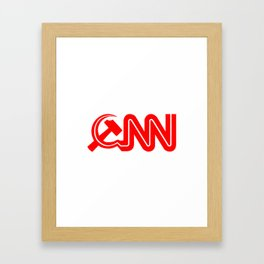 Communist News Network Framed Art Print