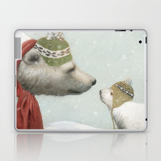 First Winter Laptop & iPad Skin