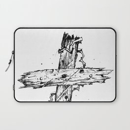 The Old Rugged Cross Laptop Sleeve