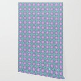 Candy illusion mandala Wallpaper
