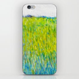 Green Field In May iPhone Skin