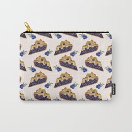 Blueberry Pie Pattern Carry-All Pouch
