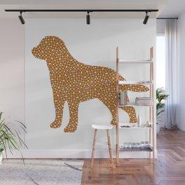 Labrador Pattern 1 Wall Mural