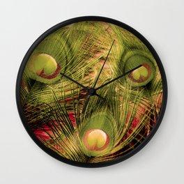 Three Eyes Wall Clock