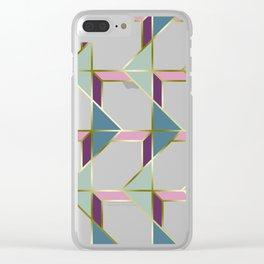Ultra Deco 3 #society6 #ultraviolet #artdeco Clear iPhone Case