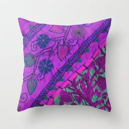 texture /pink  Throw Pillow