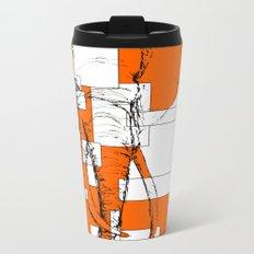 Orange is the New Elephant Metal Travel Mug