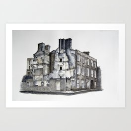 Cork Street Derelict Art Print