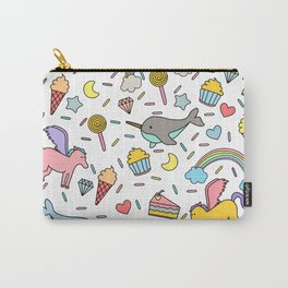 Pegasuses, Narwhals & Sugary Treats Carry-All Pouch