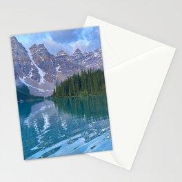 Moraine Lake Sunrise Stationery Cards