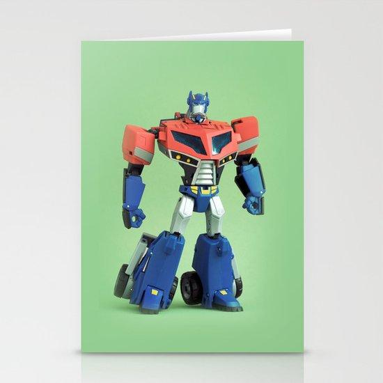 Optimus Prime (Animated) Stationery Cards