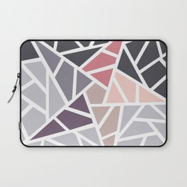 Contemporary Mosaic Star Design Laptop Sleeve