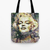 marilyn Tote Bags featuring MARILYN by Vonis