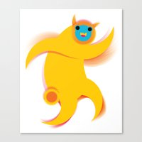 robert farkas Canvas Prints featuring Robert by res_fly