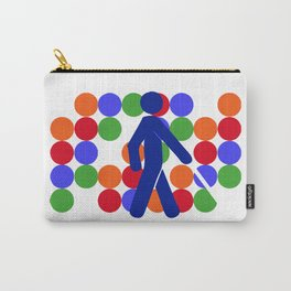 COLOR BLINDNESS Carry-All Pouch