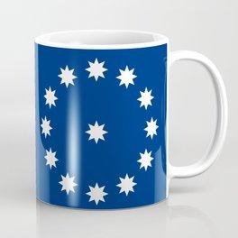 Easton city flag united states of america Pennsylvania Coffee Mug