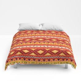 Tribal #5 * Ethno Ethnic Aztec Navajo Pattern Boho Chic Comforters