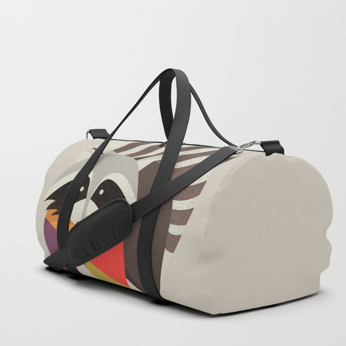 Raccoon Duffle Bag