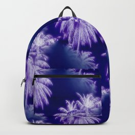 Palm Trees Coastal Evening Backpack