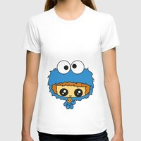 cookie monster T-shirts featuring Cookie Monster Boy  by aldarwish